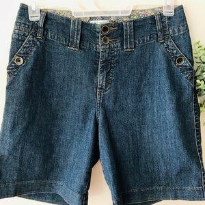 Lee Bermuda Jean Shorts